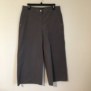 NWT Lafayette 148 NY High Waist Goucho Pants